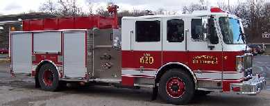 Apparatus 620 Main Fire Engine